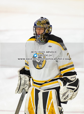Boys Varsity Hockey:  Andover defeated Tilton 3-2 on January 9, 2019 at Phillips Andover in Andover, Massachusetts.