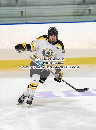 Boys Varsity Hockey:  Andover defeated Tilton 3-2 on January 9, 2019 at Phillips Andover in Andover, Massachusetts.