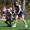 Girls Varsity Lacrosse: Exeter defeated Nobles 8-5 on April 20, 2016, at Noble & Greenough in Dedham, Massachusetts