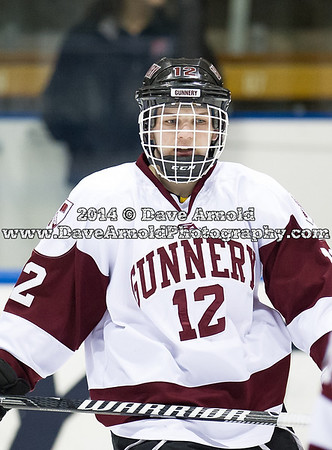 Salisbury defeated Gunnery 3-2, in overtime, in the finals of the Stuart/Corkery Tournament on March 2, 2014, at the Ingalls Rink in New Haven, Connecticut.