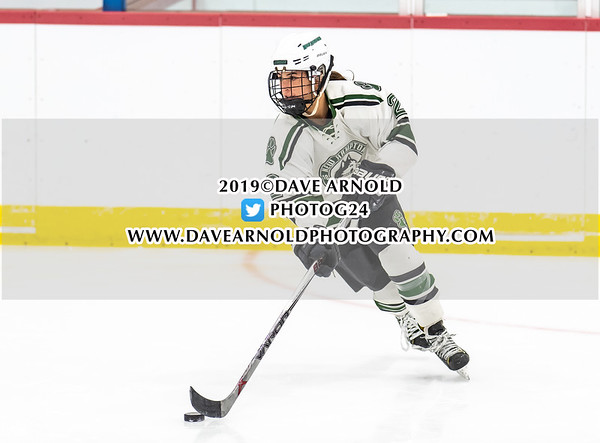 Girls Varsity Hockey: St. Paul's defeated New Hampton 2-1 on February 1, 2019 at St. Paul's School in Concord, New Hampshire.