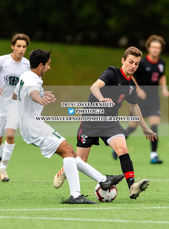 Boys Varsity Soccer: Brooks and St. Sebastian's battled to a 2-2 tie on October 8, 2019 at St. Sebastian's in Needham, Massachusetts.