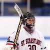 Boys Varsity Hockey - Nobles defeated St. Sebastian's 4-3, in overtime, on January 6, 2016, at Noble & Greenough n Dedham, Massachusetts.