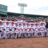 Varsity Baseball: st. Sebastian's defeated Belmont Hill 2-1 on April 18, 2018 at Fenway Park in Boston, Massachusetts.