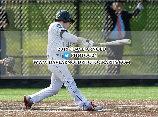 Varsity Baseball: Roxbury Latin defeated St. Sebastian's 2-0 on May 22, 2019 at St. Sebastian's in Needham,  Massachusetts.