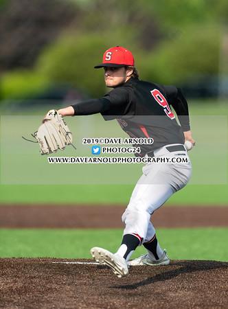 Varsity Baseball: Roxbury Latin defeated St. Sebastian's 2-0 on May 22, 2019 at St. Sebastian's in Needham,  Massachusetts.
