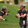 St. Sebastian's varsity football defeated Noble & Greenough 34-0 on September 24, 2011, at St. Sebastian's School in Needham, Massachusetts.