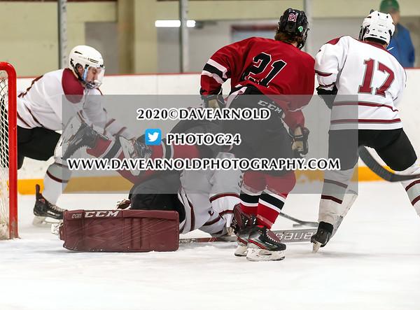 Boys Varsity Hockey: Exeter defeated Tabor 9-4 on January 22, 2020 at Tabor Academy in Marion, Massachusetts.