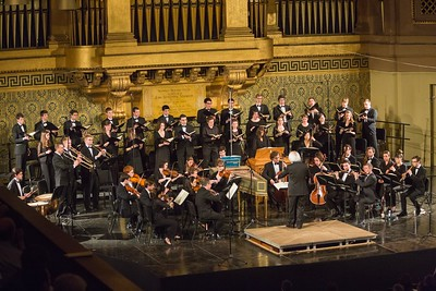 Institute of Sacred Music  Yale University  Bach B Minor Mass at Woolsey Hall with Julliard musicians