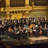 Institute of Sacred Music<br /> <br /> Yale University<br /> <br /> Bach B Minor Mass at Woolsey Hall with Julliard musicians