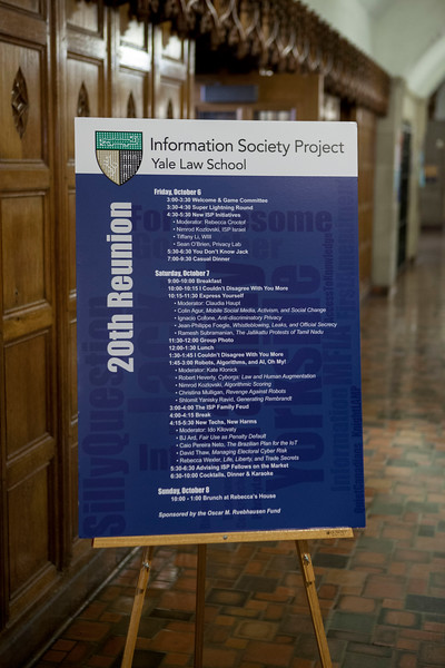 ISP 20th Reunion, October 6-7, 2017
