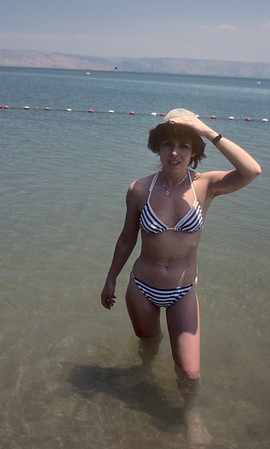 Tory, coming out of the Sea of Galilee.