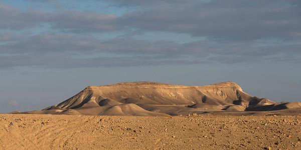 Sand dunes in desert, Judean Desert, Dead Sea Region, Israel