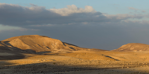 Scenic view of desert, Judean Desert, Dead Sea Region, Israel