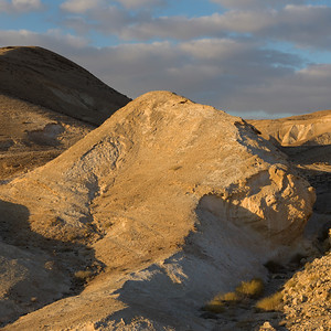 Elevated view of desert, Judean Desert, Dead Sea Region, Israel
