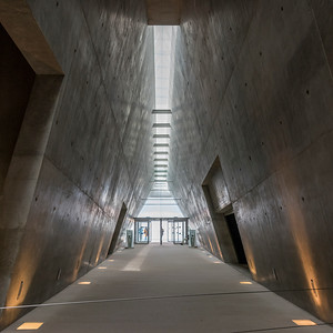 Interiors of Holocaust History Museum, Yad Vashem, Jerusalem, Israel