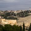 View of cemetery, Jerusalem, Israel