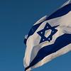 Close-up of Israeli Flag, Israel