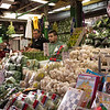 Merchandise for sale at market stall, Carmel Market, Tel Aviv, Israel