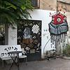Graffiti on wall, Tel Aviv-Yafo, Tel Aviv, Israel