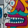Graffiti on wall, Florentin, Tel Aviv, Israel