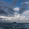 Clouds over the sea, Caesarea, Haifa, Haifa District, Israel