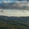 Clouds over mountain, Mount Carmel, Haifa, Haifa District, Israel
