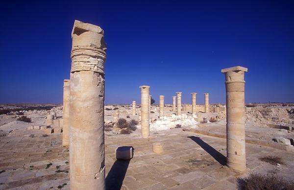 Nitzana   Nabatean city