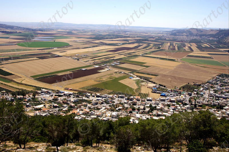 עמק יזרעאל  - Jezreel Valley