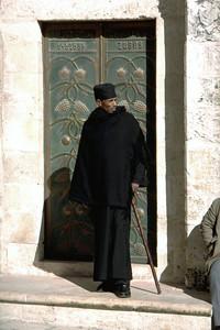 ETHIOPIAN PRIEST - JERUSALEM