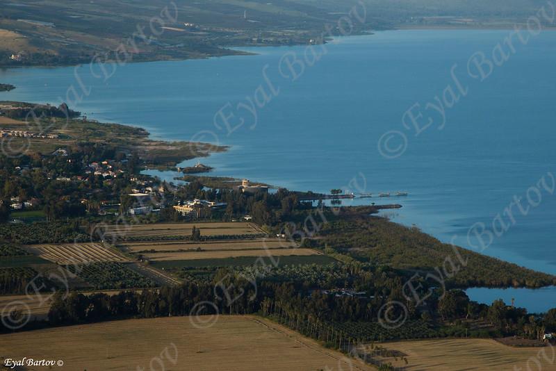 Sea of Galilee  -  Arbel Cliff-  כינרת מהר הארבל