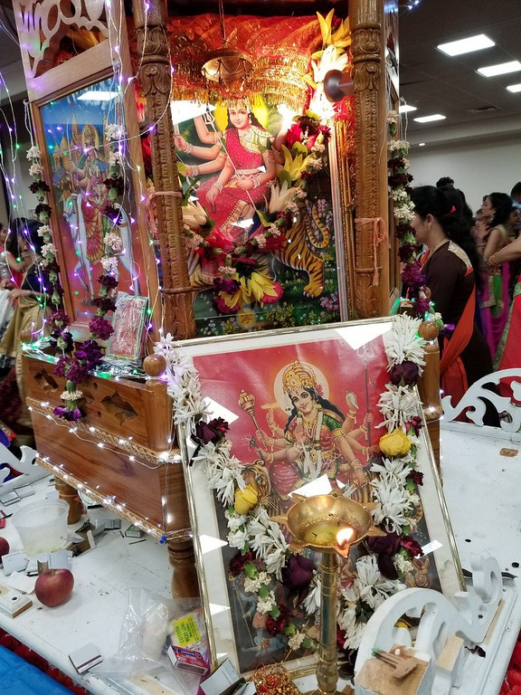 . The idols of Durga Puja, Rama, Vishnu and many more to celebrate the victory of good over evil.