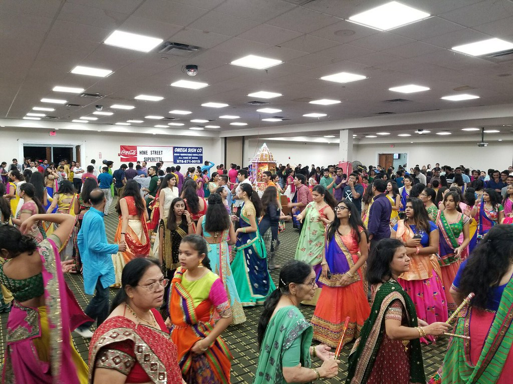 . The joyous festival of Navratri. Traditional dance, music and food to celebrate the victory of good over evil. ALL PHOTOS COURTESY Ankit Patel, vice president of ISSO Boston