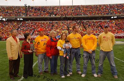2007 Alumni Families Honored