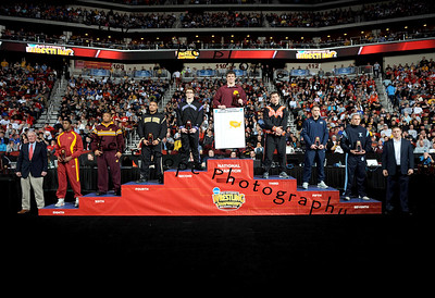 2013 NCAA Wrestling Podium Pics
