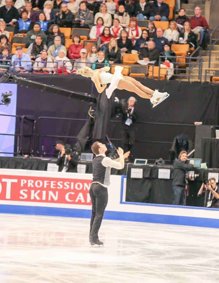 ISU World Championships 2016 - Pairs