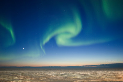 Twilight Aurora Borealis