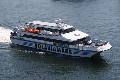 2009 - ACAPULCO JET arriving in Napoli.