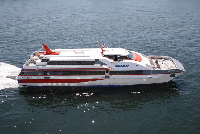 2009 - HSC ACHERNAR arriving in Napoli.