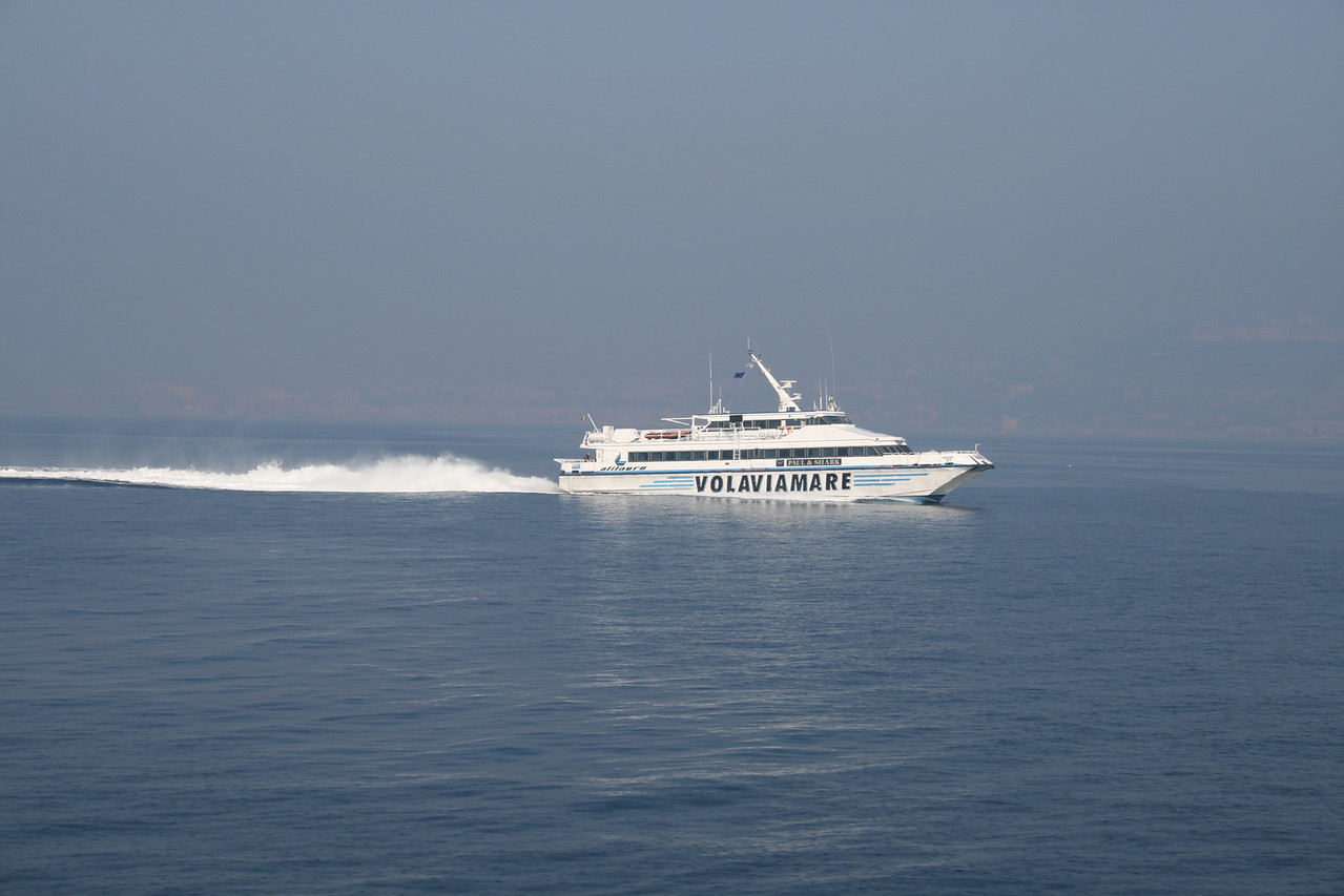 AIRONE JET on Ischia - Napoli route.