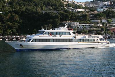 2008 - CAPRI JET departing from Capri.