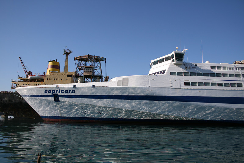 2008 - HSC CAPRICORN laid up in Napoli.