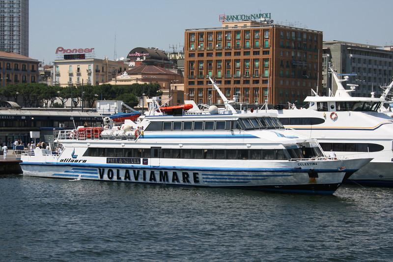CELESTINA moored in Napoli.