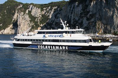 2008 - HSC CITTA' DI AMALFI arriving to Capri.