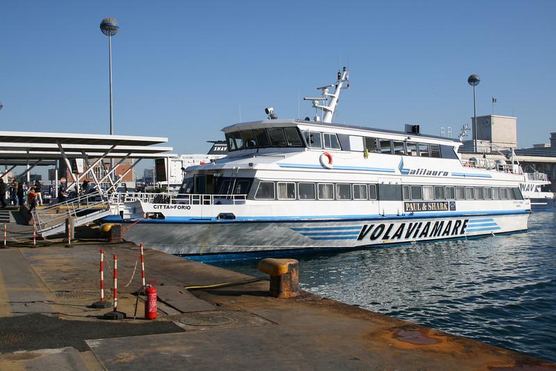 CITTA' DI FORIO moored in Napoli.