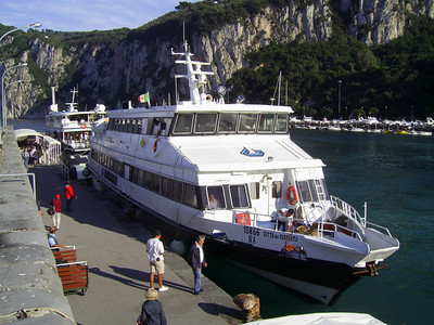 HSC CITTA' DI SORRENTO moored in Capri.