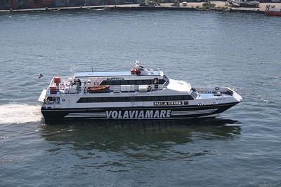 2009 - GIUNONE JET arriving in Napoli.