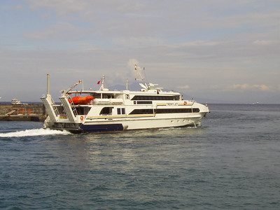 2007 - HSC TREMITI JET departing from Capri.