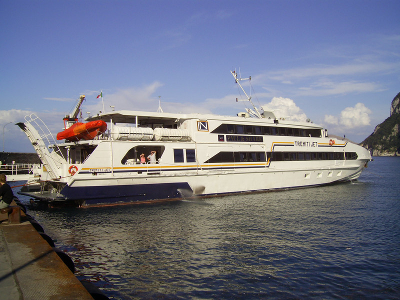 2007 - HSC TREMITI JET in Capri.