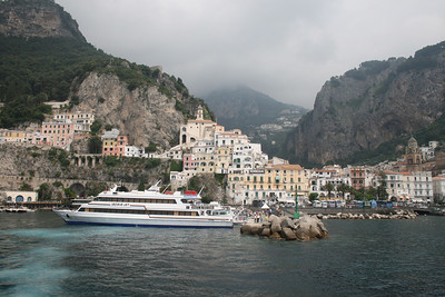 2009 - ISCHIA JET in Amalfi.